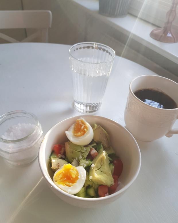 Vilket väder och frukosttips
