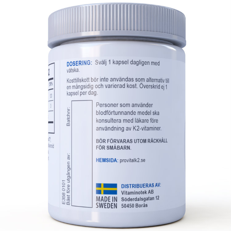Prenumeration på MenaQ7® ProVital-K2
