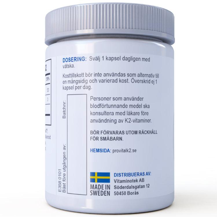 MenaQ7® ProVital-K2 (Ej prenumeration)
