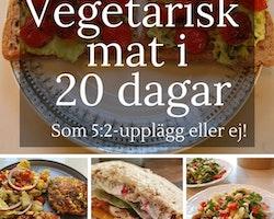 Vegetarisk mat i 20 dagar, som 5:2 eller ej!
