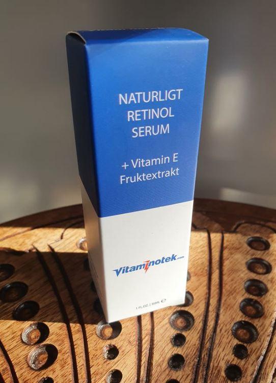Naturligt Retinol Serum + Vitamin E Fruktextrakt, för ansiktet