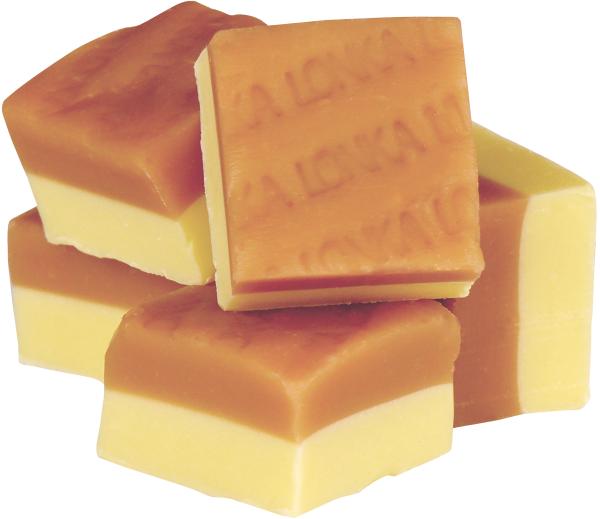 Lonka Duo fudge vanilj choklad 2 kg