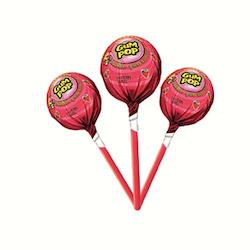 Gum Pop Jordgubb 48 st  860 g