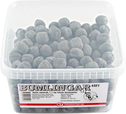 Bumlingar Salta Salmiak 1,7 kg