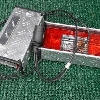 HeckPack Komplett Belysning -7 polig med Lyktskydd