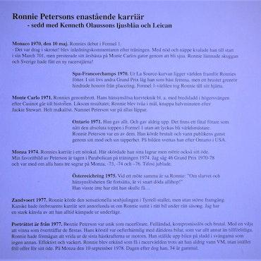 1998 - Den allra första Ronniemappen - 8 fotografier - 24 x 30cm