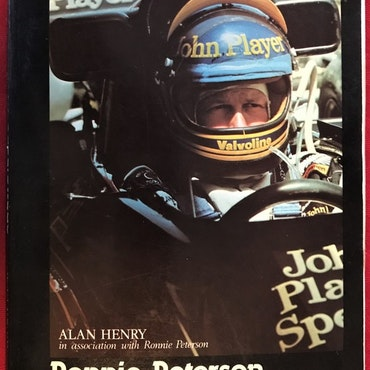 Ronnie Peterson - Superswede, A. Henry - eng. bok, häftad, 200 sid