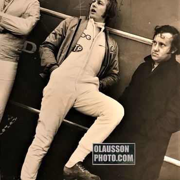 1971 - Zandvoort: Tommy, Ronnie o Alan Rees, March - 24x30 cm