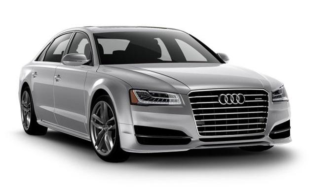 Auto raamfolie voor de Audi A8.