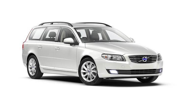 Auto raamfolie voor Volvo V70