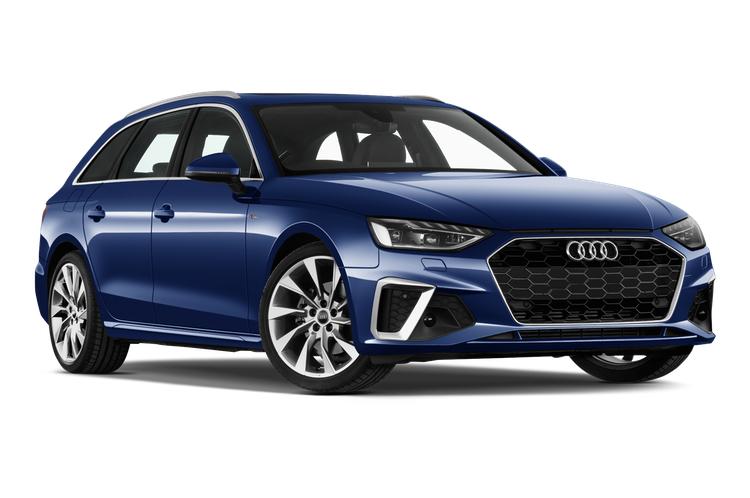 Auto raamfolie voor Audi A4 Avant.