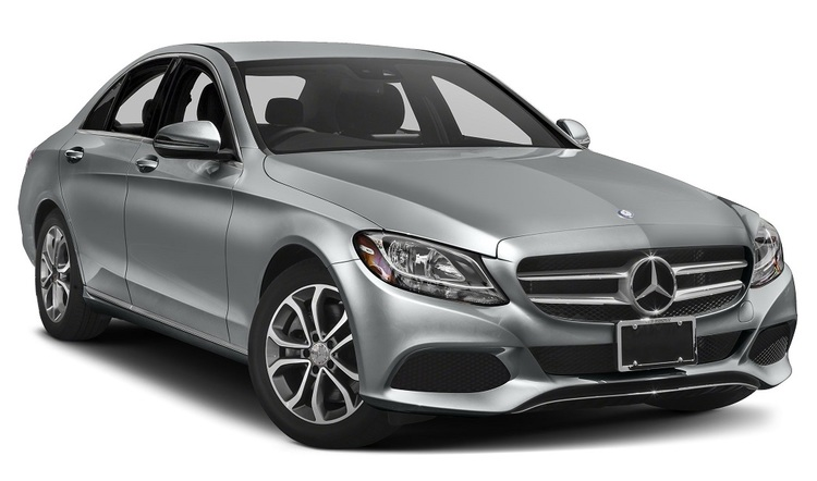 Auto raamfolie voor Mercedes C-klasse sedan