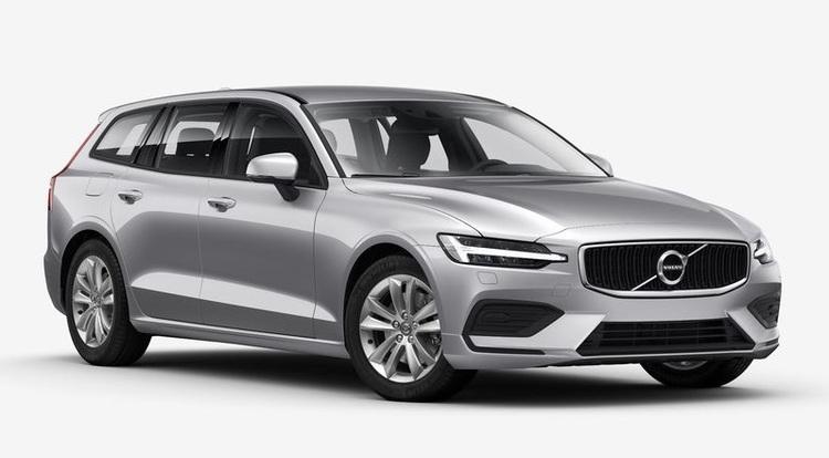 Auto raamfolie voor de Volvo V60.