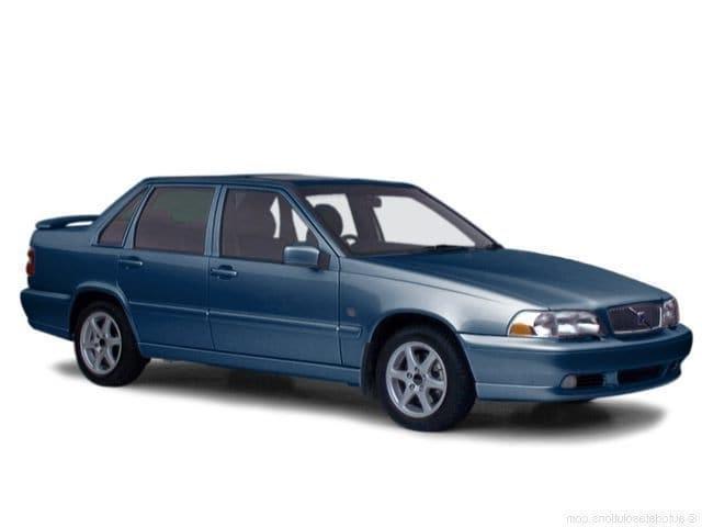 Auto raamfolie voor de Volvo S70.