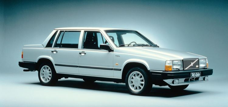 Auto raamfolie voor de Volvo 740.