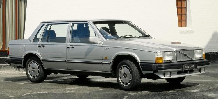 Auto raamfolie voor de Volvo 760.