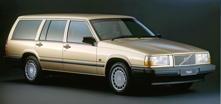 Auto raamfolie voor de Volvo 745.