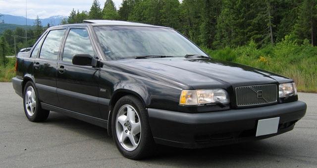 Auto raamfolie voor de Volvo 850.