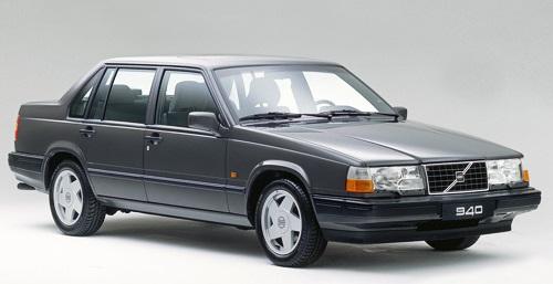 Auto raamfolie voor de Volvo 940.