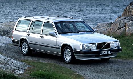 Auto raamfolie voor de Volvo 945.