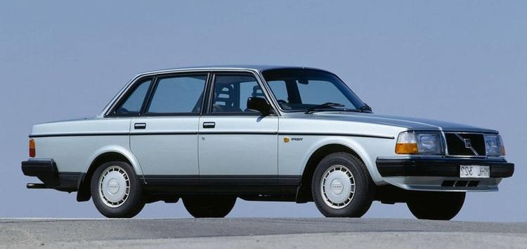 Auto raamfolie voor de Volvo 240.