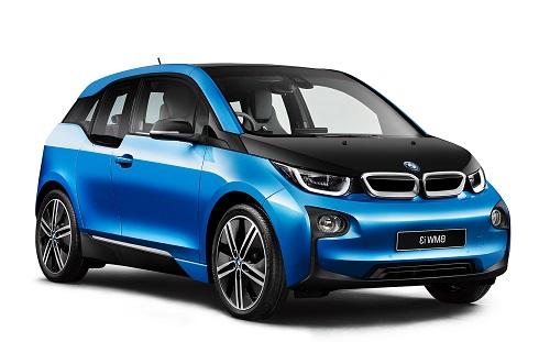 Auto raamfolie voor de BMW i3.