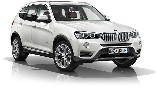 Auto raamfolie voor de BMW X3.