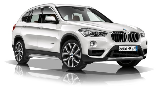 Auto raamfolie voor de BMW X1.