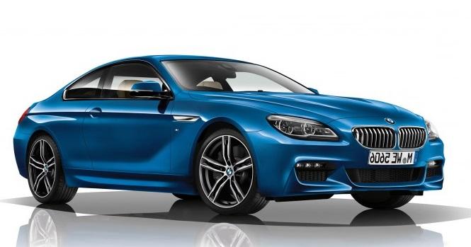 Auto raamfolie voor de BMW 6-serie coupé.