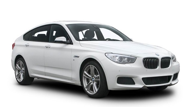 Auto raamfolie voor de BMW 5-serie Gran Turismo.