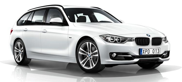 Auto raamfolie voor de BMW 3-serie Touring.