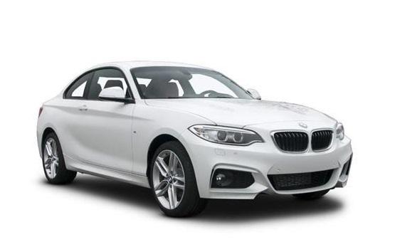 Auto raamfolie voor de BMW 2-serie coupé.
