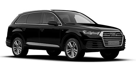 Auto raamfolie voor de Audi Q7.