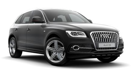 Auto raamfolie voor de Audi Q5.
