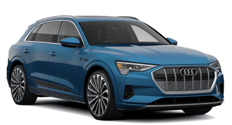 Auto raamfolie voor de Audi E-tron.