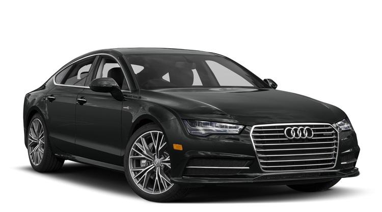 Auto raamfolie voor de Audi A7.