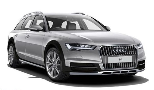Auto raamfolie voor de Audi A6 Allroad.