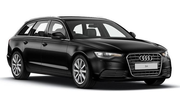 Auto raamfolie voor de Audi A6 Avant.