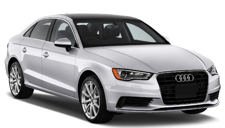 Auto raamfolie voor de Audi A3 sedan.