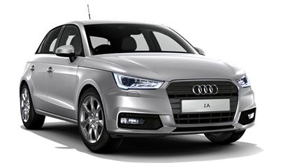 Auto raamfolie voor de Audi A1 Sportback 5-deurs.