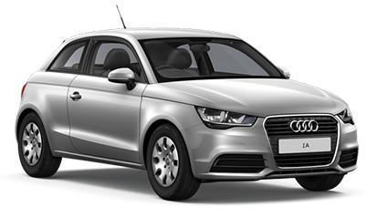Auto raamfolie voor de Audi A1 3-deurs.