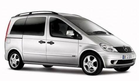 Auto raamfolie voor de Mercedes Vaneo