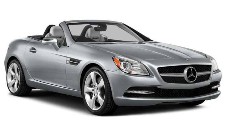 Auto raamfolie voor de Mercedes SLK.