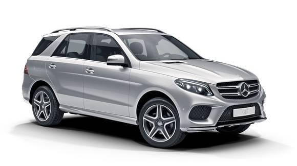 Auto raamfolie voor de Mercedes GLE SUV.