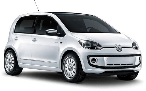 Auto raamfolie voor de Volkswagen Up 5-d.