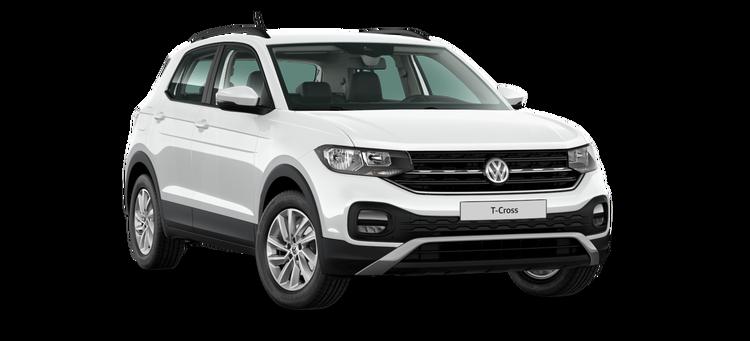 Auto raamfolie voor de Volkswagen T-Cross.