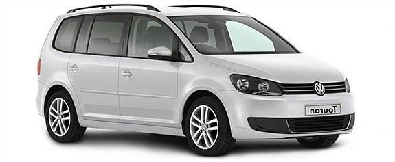 Auto raamfolie voor de Volkswagen Touran.