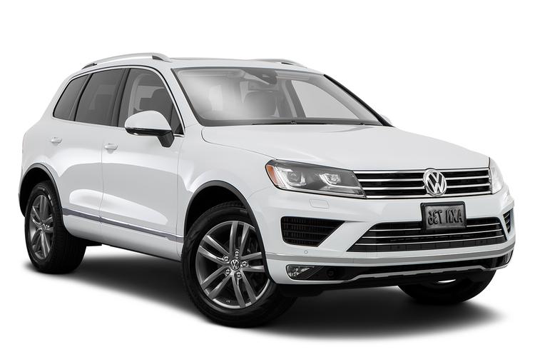 Auto raamfolie voor de Volkswagen Touareg.