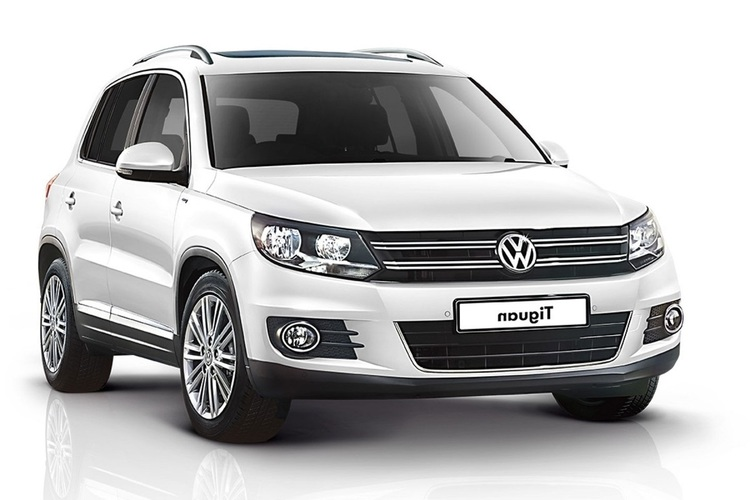 Auto raamfolie voor de Volkswagen Tiguan.