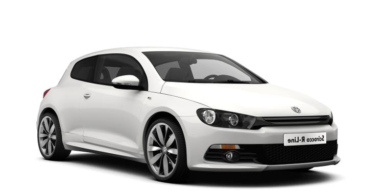 Auto raamfolie voor de Volkswagen Scirocco.